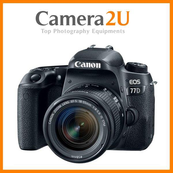 Canon EOS 77D 18-55mm STM Lens + 16GB+Bag (Import)