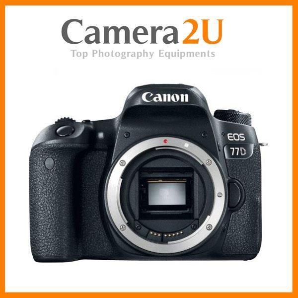 Canon EOS 77D Digital DSLR Camera Body + 16GB+Bag (Import)