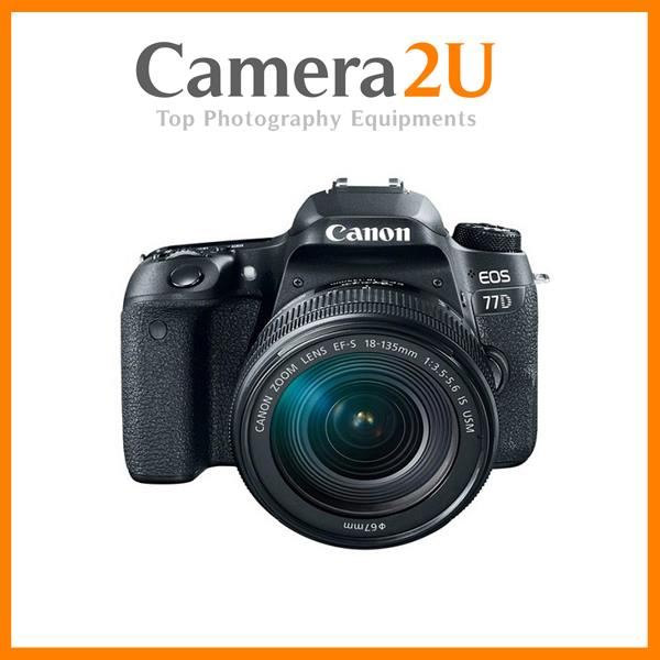 NEW Canon EOS 77D DSLR Camera With 18-55mm Lens