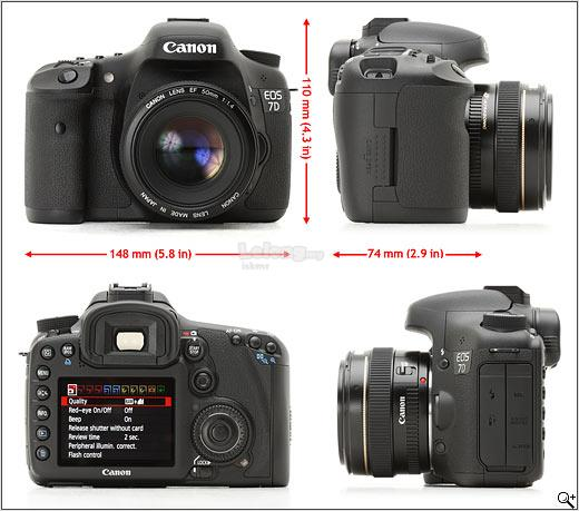 Canon EOS 7D and 18-200mm zoom lens