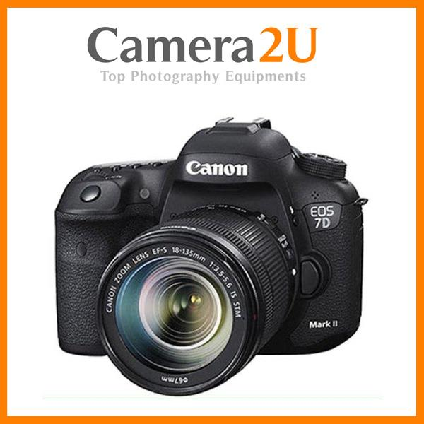 Canon EOS 7D Mark II + 18-135mm IS USM Lens + W-E1 WiFi (Import)