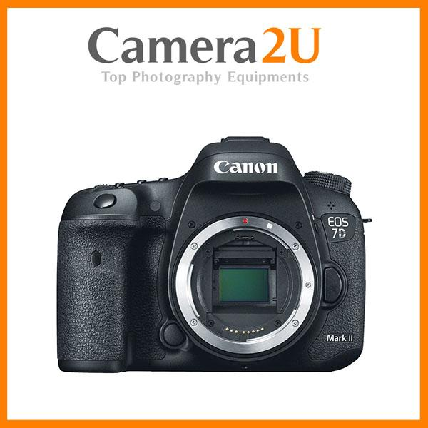 NEW Canon EOS 7D Mark II Body DSLR