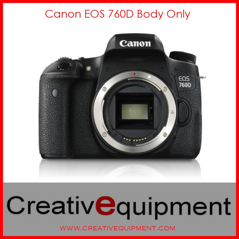Canon EOS DSLR 760D Body Only Camera *Canon Malaysia Warranty*