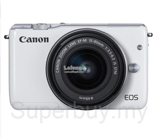Canon EOS M10 (EFM 15-45 IS STM) Digital Camera (Canon Warranty)