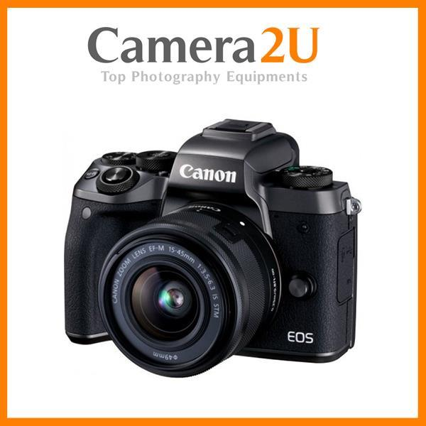Canon EOS M5 + 15-45mm +16GB+Bag (Import)