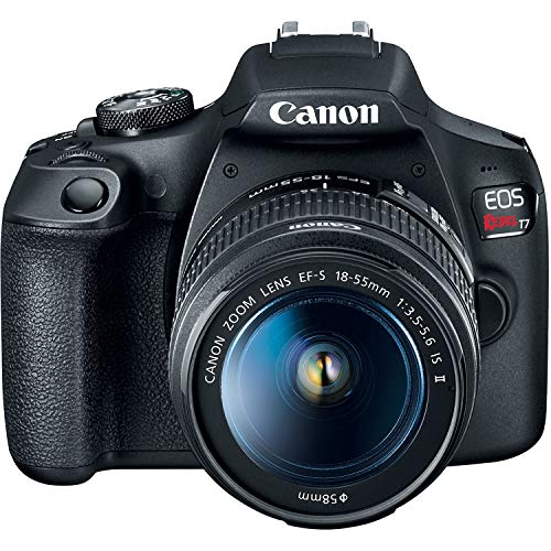Canon EOS Rebel T7 DSLR Camera with 18-55mm Lens + 32GB + Essential Photo Bund