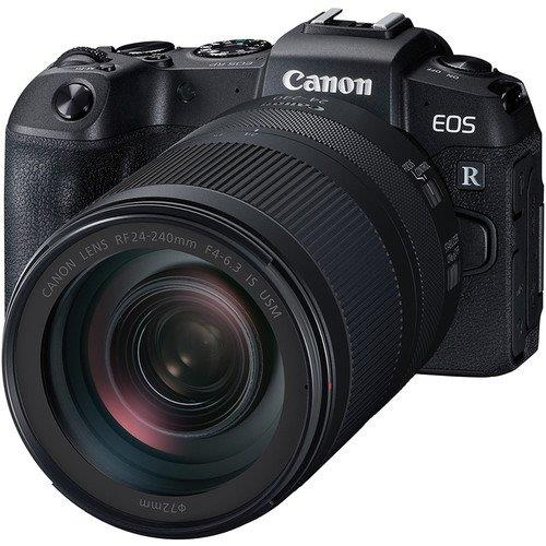 Canon EOS RP Body + 24-240mm Lens + Adapter+64GB Ext Pro (Import)