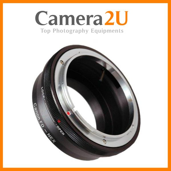 Canon FD Lens to SONY E Mount NEX Camera Body Adapter