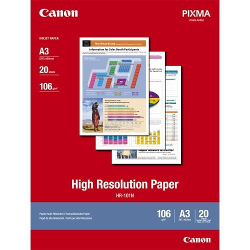 Canon HR-101 A3 High Resolution Paper 20'S (HR-101 A3)