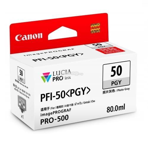 Canon ink tank 80ml Photo Gray (PFI-50PGY)