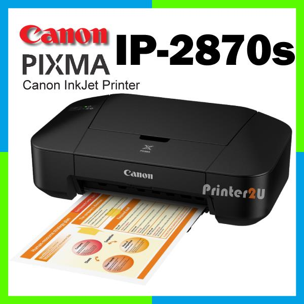 Canon iP2870s PIXMA Inkjet iP 2870S Singel Function Print INK Printer