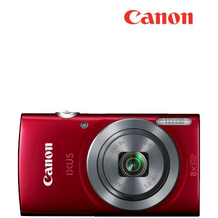 "Canon IXUS 160 Digital Camera .7"" Display, 20MP, 8x Zoom,)"