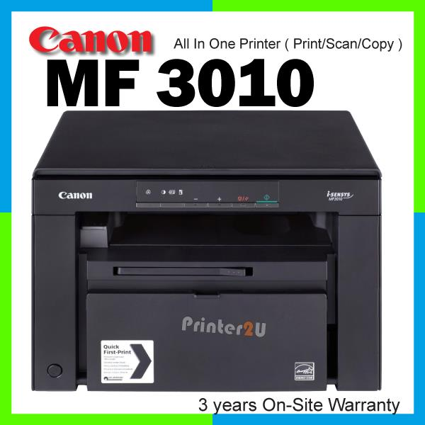 scanner canon mf3010