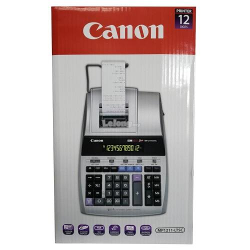 Canon LCD 12 Digits Printing Calculator (MP1211-LTSC)