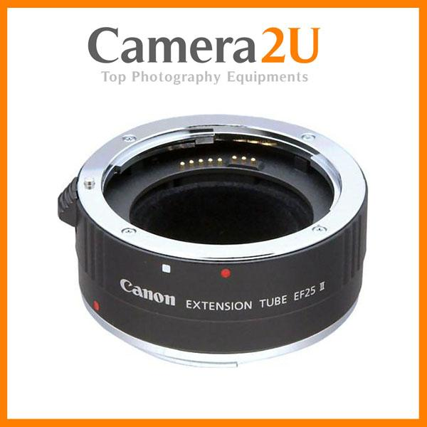 NEW Canon Lens Extension Tube EF 25 II (Canon Malaysia)