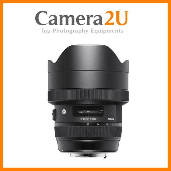 Canon Mount Sigma 12-24mm f/4 DG HSM Art Lens (Import)