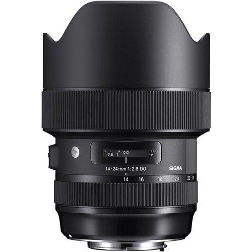 Canon Mount Sigma 14-24mm f/2.8 DG HSM Art Lens (2 Yr Wrty)(MSIA)