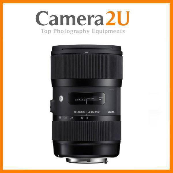 New Canon Mount Sigma 18-35mm F1.8 DC HSM Art Lens (Import)
