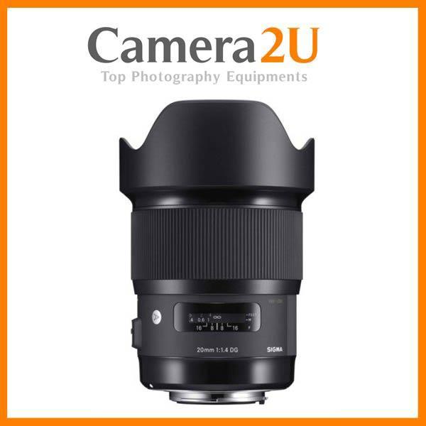 Canon Mount Sigma 20mm F1.4 DG HSM ART Lens (Import)