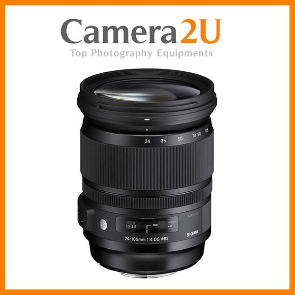 New Canon Mount Sigma 24-105mm F4 DG OS HSM Lens (Import)