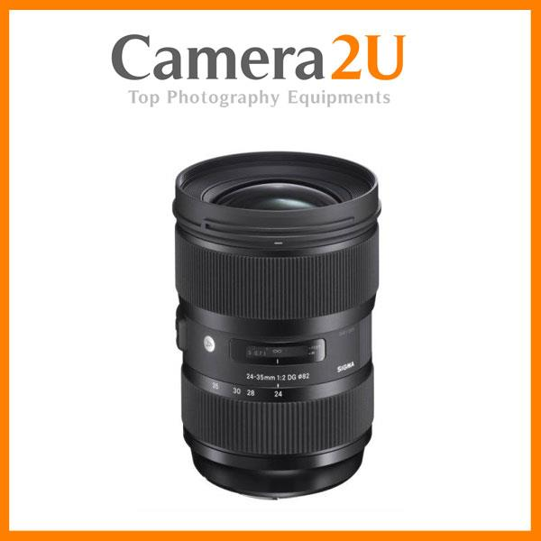 Canon Mount Sigma 24-35mm F2 DG HSM ART Lens (Import)