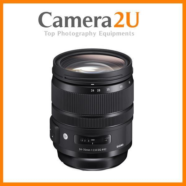Canon Mount Sigma 24-70mm f/2.8 DG OS HSM Art Lens (Import)