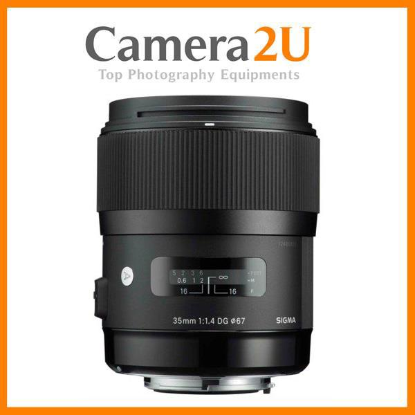 New Canon Mount Sigma 35mm F1.4 DG HSM ART Lens (2yr wrty)