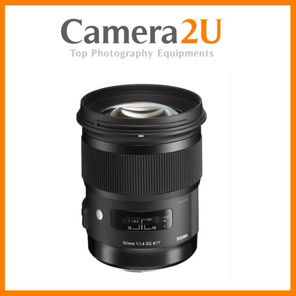 New Canon Mount Sigma 50mm F1.4 DG HSM ART Lens (Import)