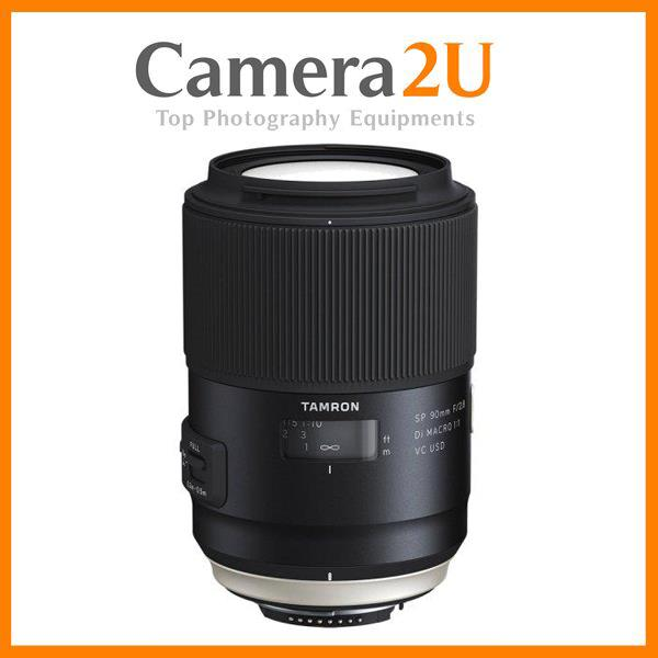 New Canon Mount Tamron 90mm F2.8 SP Di MACRO 1:1 VC USD F017