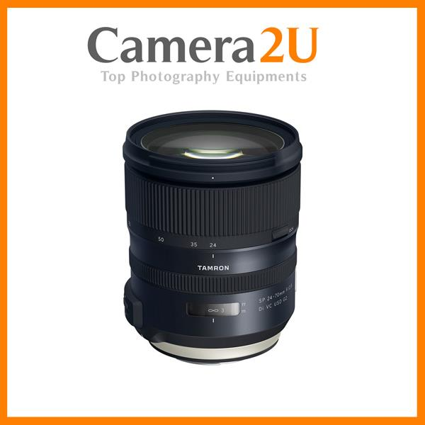 Canon  Mount Tamron SP 24-70mm f/2.8 Di VC USD G2 Lens (Import)