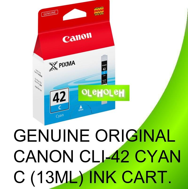 Canon Original CLI-42 CYAN MAGENTA YELLOW BLACK Ink Cartridge. ‹ ›