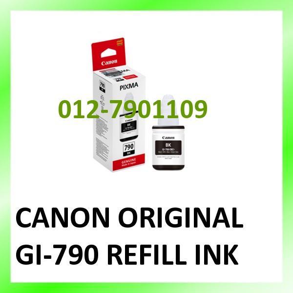 CANON ORIGINAL GI790 GI-790 REFILL INK FOR G1000 G2000 G3000 G4000