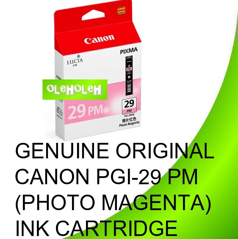 Canon Original PGI-29 PGI-29PM Photo Magenta PGI-29MBK Ink