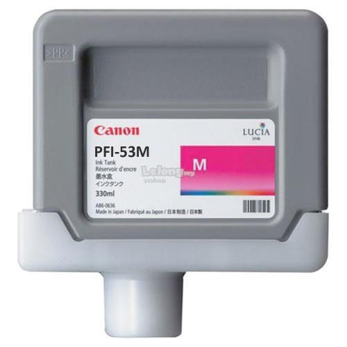 Canon PFI-53 Y/ C/ BL/ GY/ M/ R/ MBK/ CO/ PM/ PGY/ PC/ PBK Ink