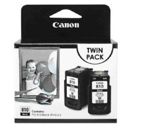 Canon PG-810 Twin Pack Ink Cartridge Black (PG-810)