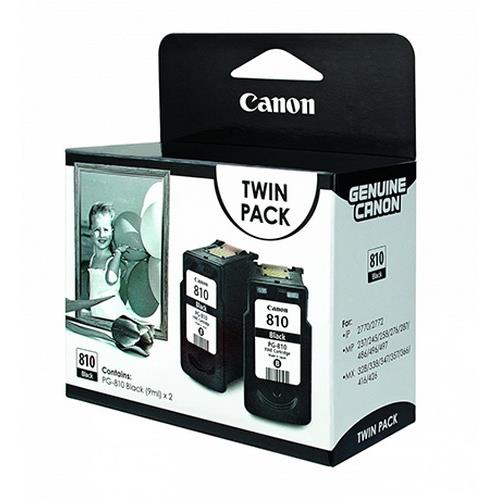 Canon PG-810 (Twin Pack) Pixma iP2770 iP2772 MP496 MP497 MX416 MX426