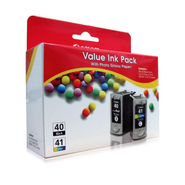 <B>Canon PG40+CL41 Value Pack - Original</B>