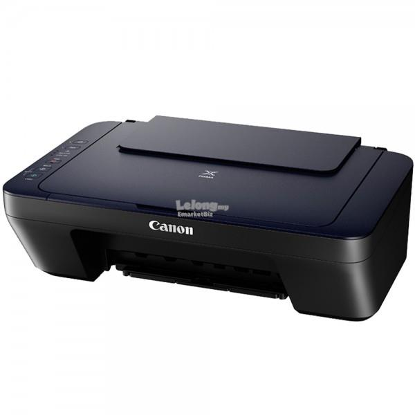 Canon PIXMA E470 All-in-one Inkjet Printer with WiFi