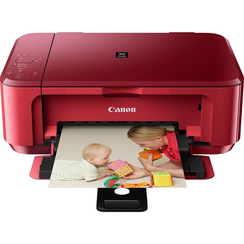 Canon Pixma E560 RED Ink Efficient WIFI Duplex Printer