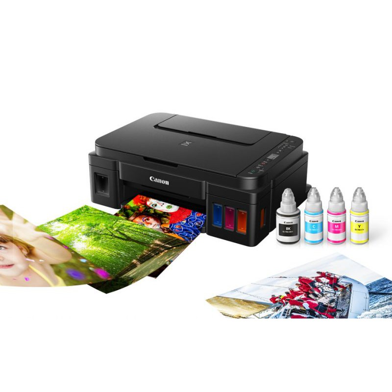 Canon PIXMA G2010 Refillable Ink Tank Color Inkjet Printer