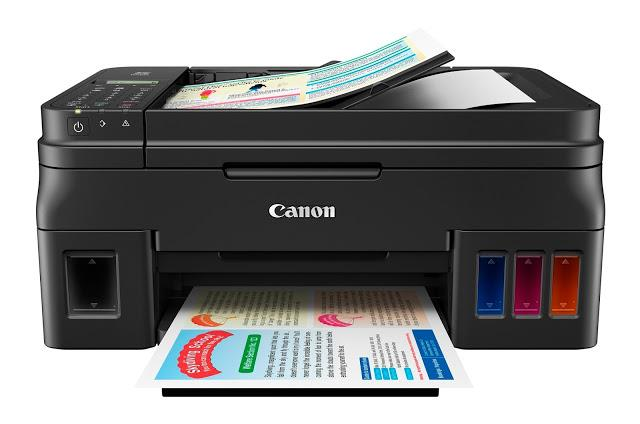 Canon PIXMA Inkjet Multifunction Printer G4000 Print Scan Copy Fax PSC