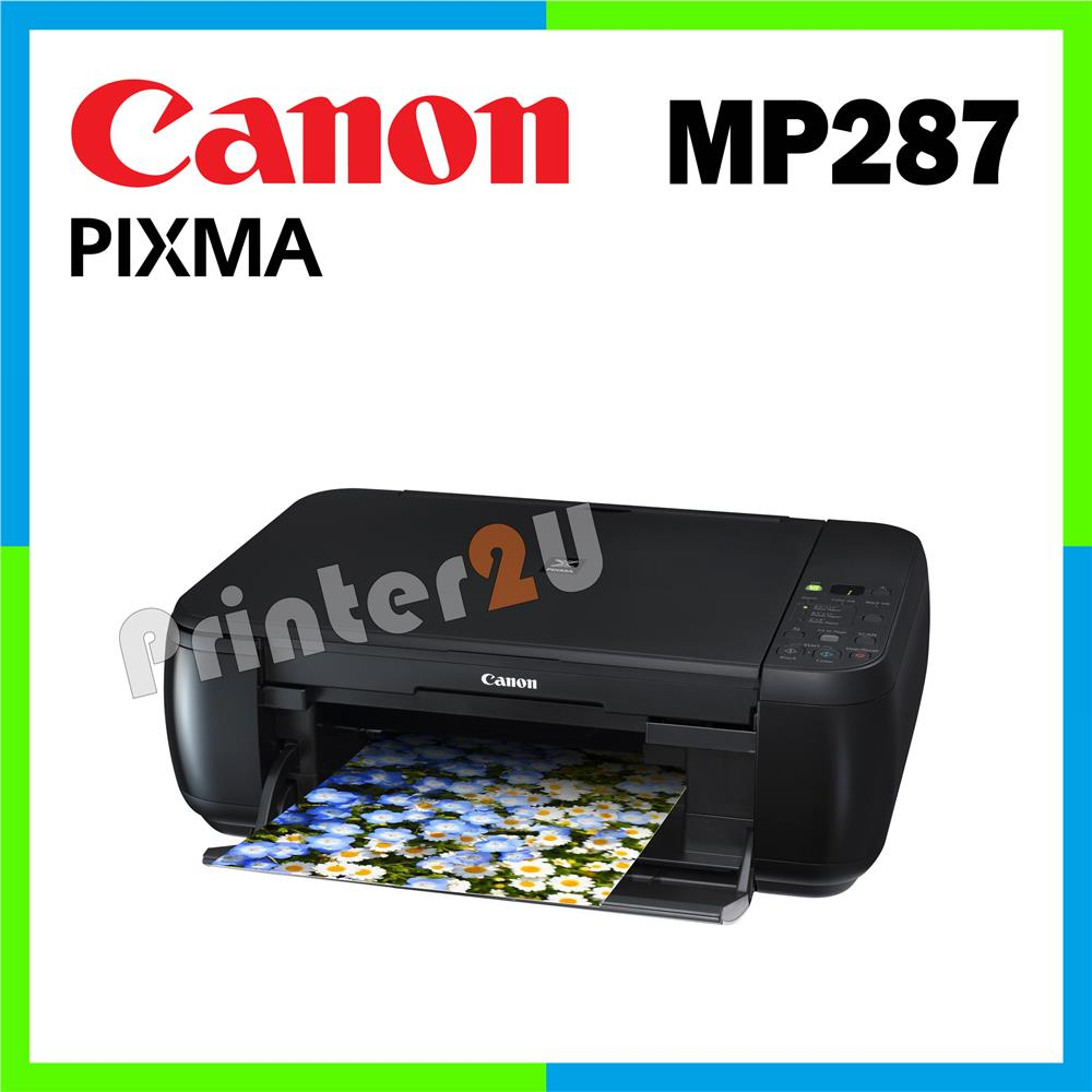 Canon PIXMA Inkjet Multifunction Printer MP287 / Print / Scan / Copy. ‹ ›