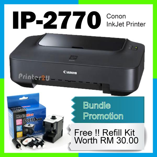 Canon Pixma ip2770 IP 2770 InkJet Print Ink-Jet Printer Original New