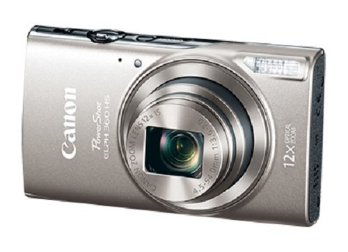 Canon PowerShot ELPH 360 Digital Camera w/ 12x Optical Zoom and Image Stabiliz