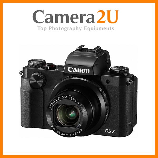NEW Canon PowerShot G5X Digital Camera