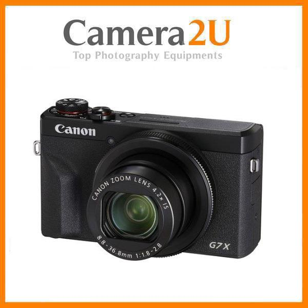 Canon PowerShot G7X Mark III Digital Camera +32GB+Case (MSIA)