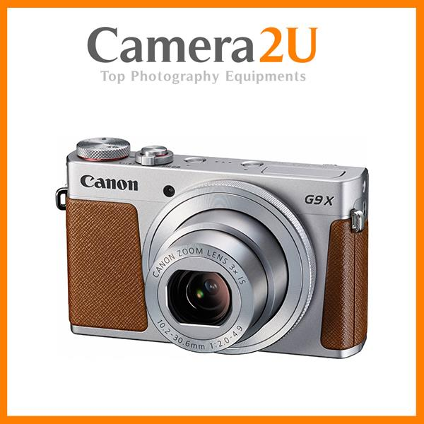 NEW Canon Powershot G9 X (Silver) + 8GB + Case