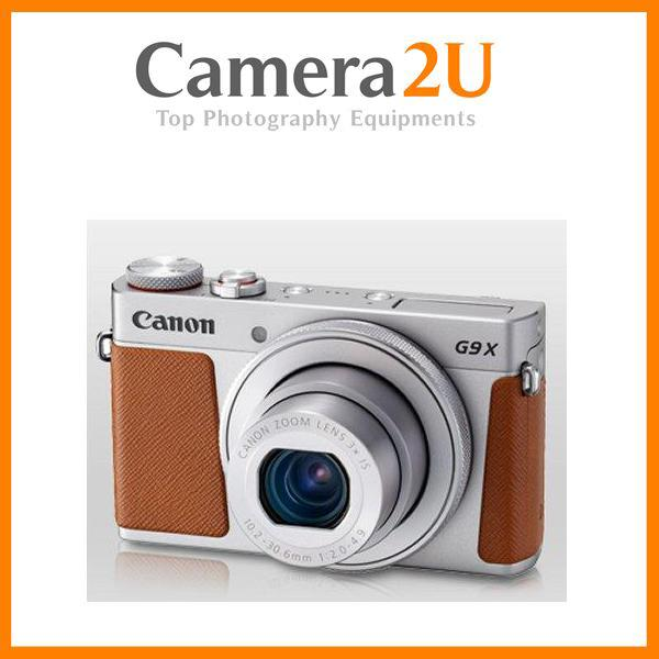 Canon PowerShot G9X Mark II Digital Camera + 16GB+Case (MSIA) (Silver)