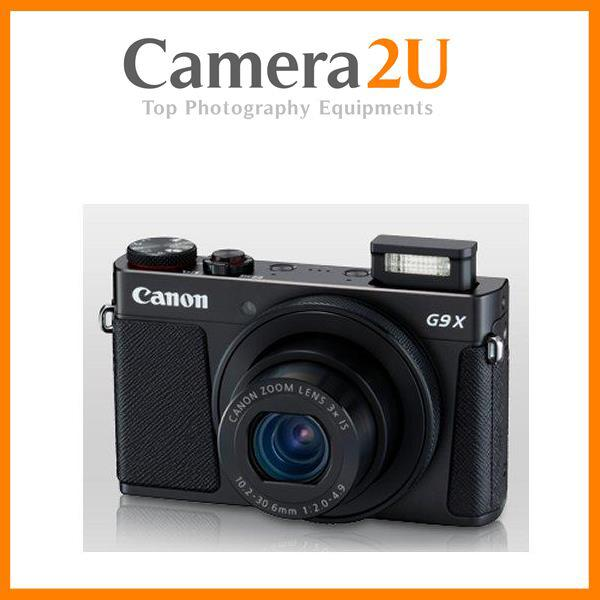 Canon PowerShot G9X MK2 Mark II Digital Camera +16GB+Case (Import)