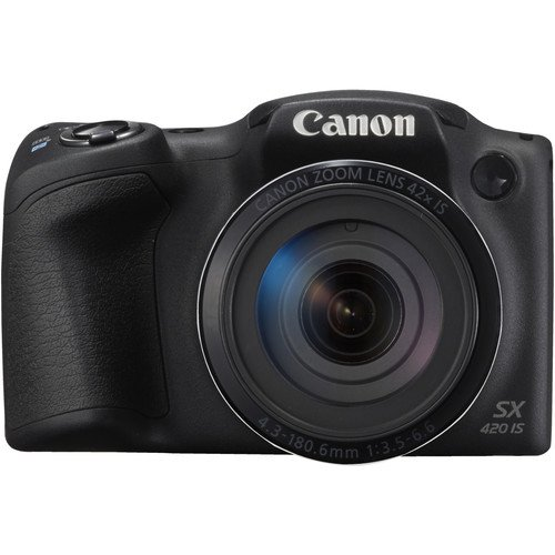 Canon PowerShot SX420 Digital Camera w/ 42x Optical Zoom - Wi-Fi  & NFC Enable